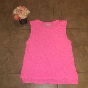 American Eagle Size large pink tank with pocket